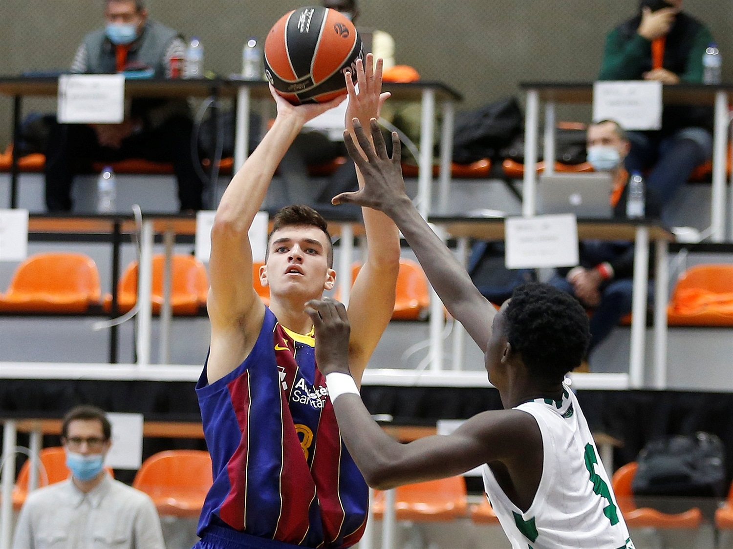 Ian Granja - U18 FC Barcelona (photo Miguel Angel Polo) - JT20