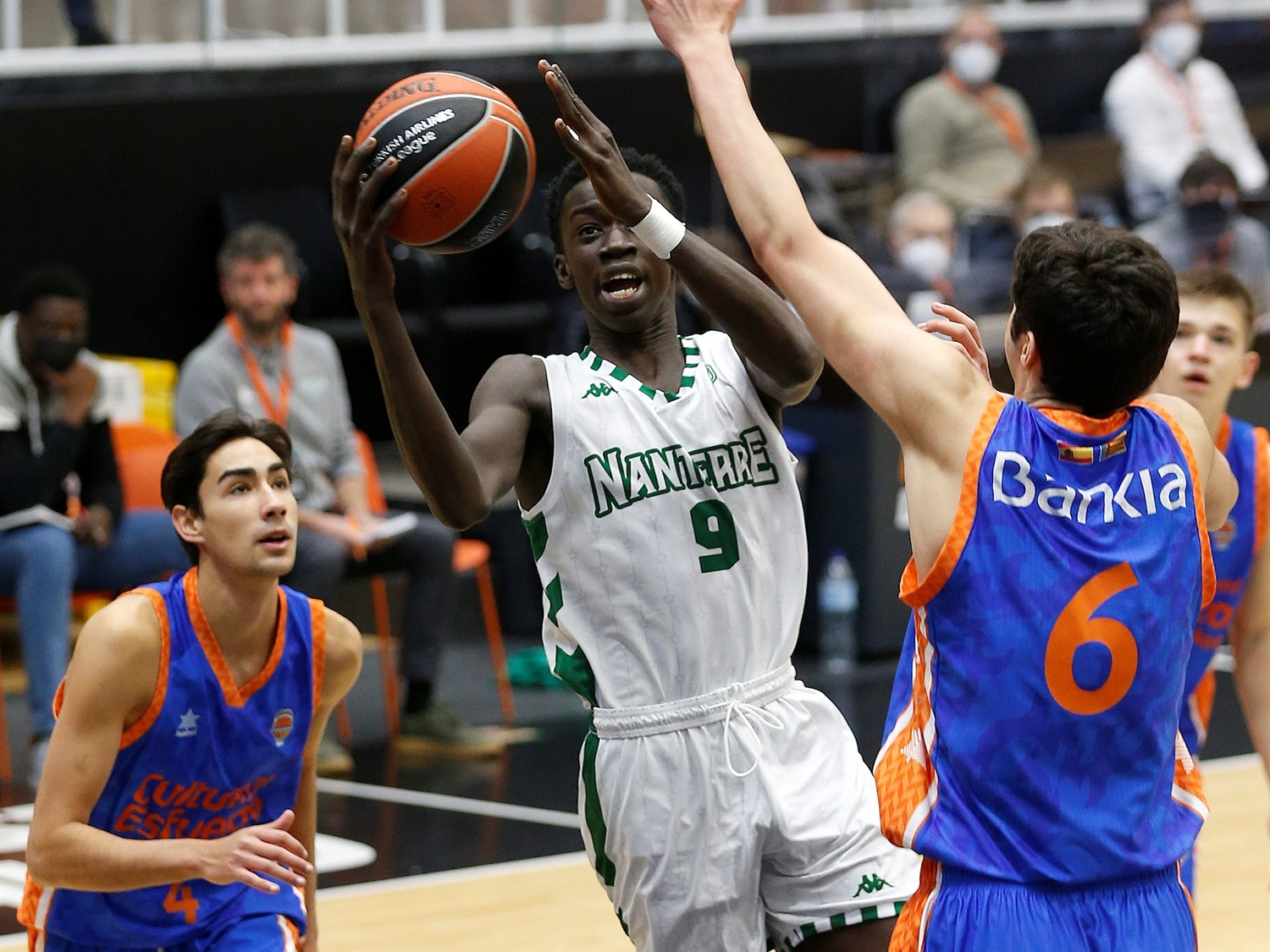 Amdy Moustapha Ndiaye - U18 Nanterre 92 (photo Miguel Angel Polo) - JT20