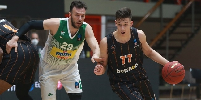 7DAYS EuroCup, Regular Season Round 8: Promitheas Patras vs. Frutti Extra Bursaspor