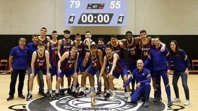 Barcelona downs Joventut for first place at ANGT Valencia