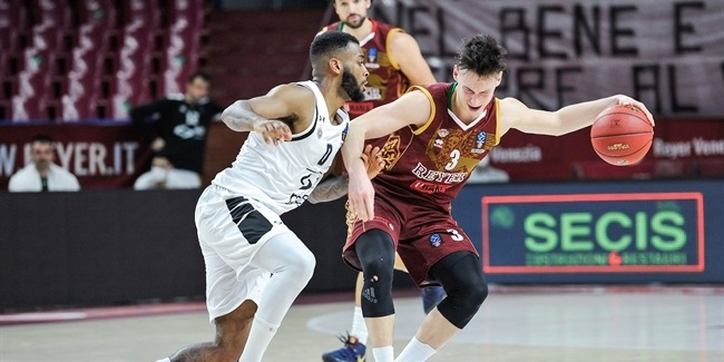 7DAYS EuroCup, Regular Season Round 7: Umana Reyer Venice vs. Partizan NIS belgrade