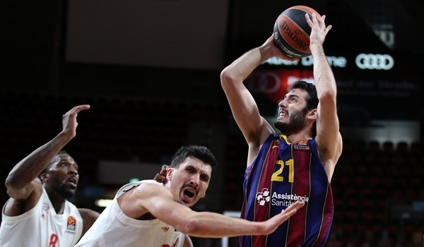 Alex Abrines, Barcelona: 'That was a rough three months'