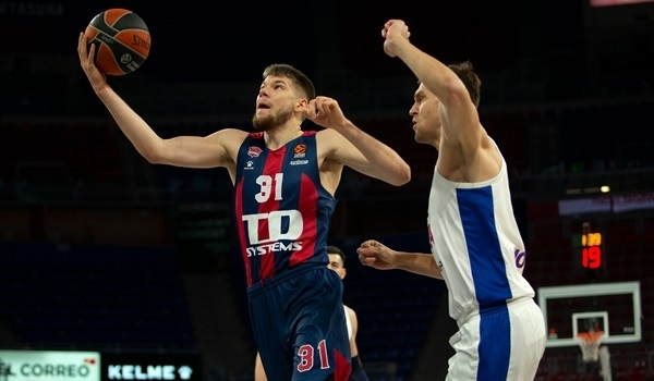RS18 Report: Baskonia halts CSKA's streak in a thriller, 95-93