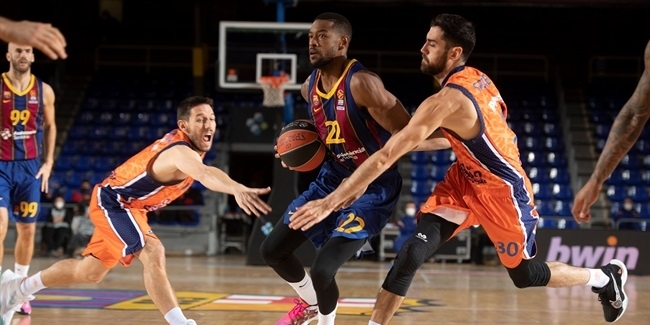 RS Round 18: FC Barcelona vs. Valencia Basket