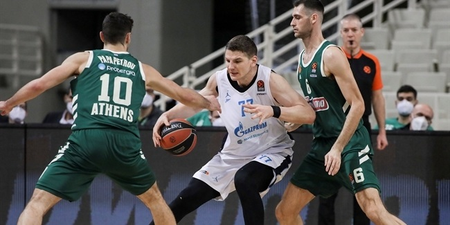 Gudaitis rose to the occasion for Zenit