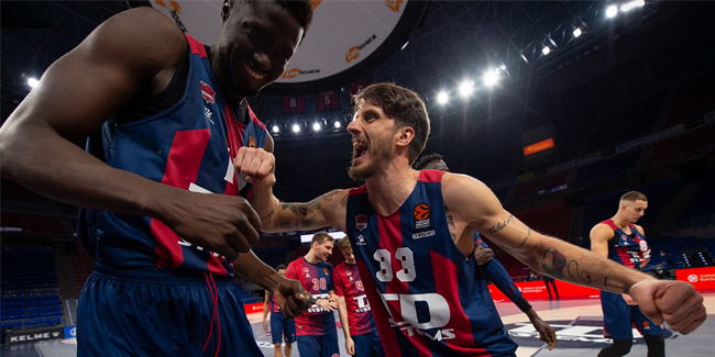 Baskonia quintet rose above to topple CSKA