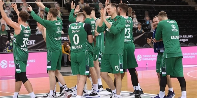 Near-flawless third quarter inspired Zalgiris