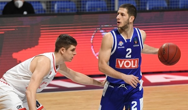 Top 16 Round 1 Report: Buducnost scores its way to big win over Bourg