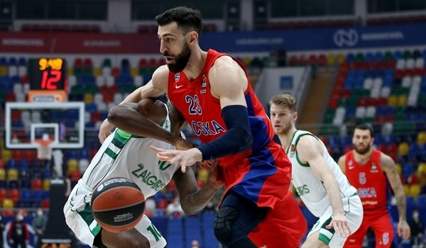 RS19 Report: CSKA puts halt to Zalgiris streak