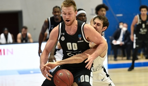Top 16 Round 1 Report: Partizan's defense suffocates Trento