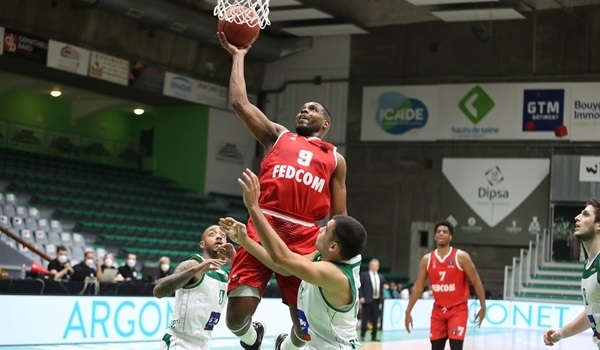 Top 16 Round 1 Report: Monaco blows out host Nanterre by 28