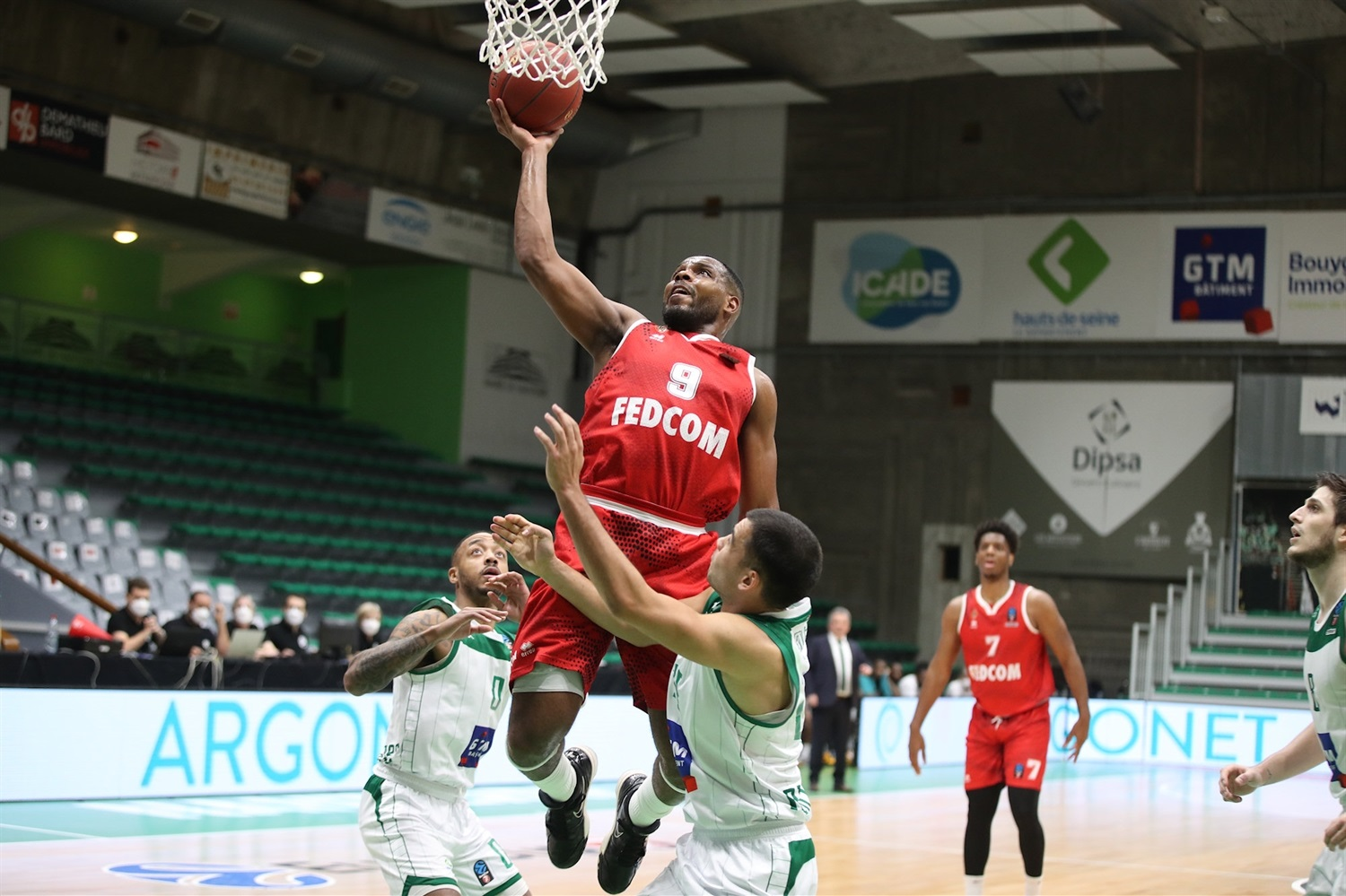 Marcos Knight - AS Monaco (photo Nanterre - Claire Macel) - EC20