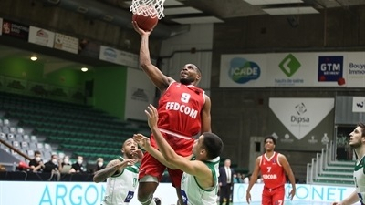 Monaco blows out host Nanterre by 28