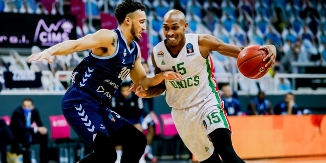7DAYS EuroCup, Top 16 Round 1: MoraBanc Andorra vs. UNICS Kazan