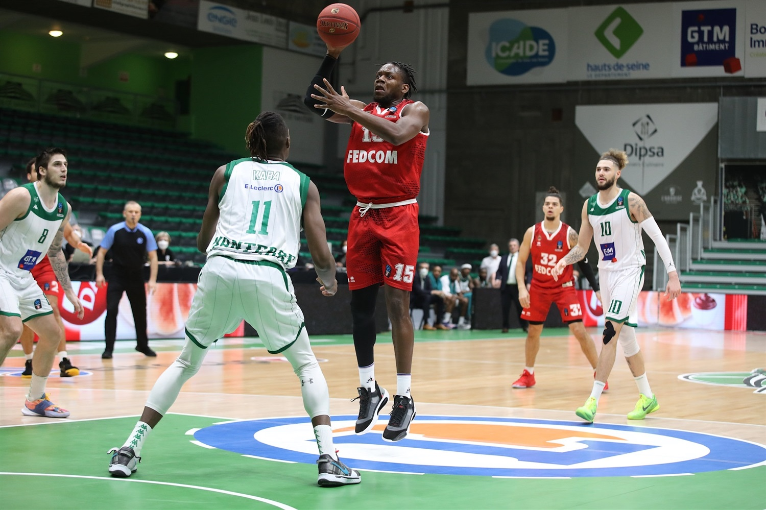 Wilfried Yeguete - AS Monaco (photo Nanterre - Claire Macel) - EC20