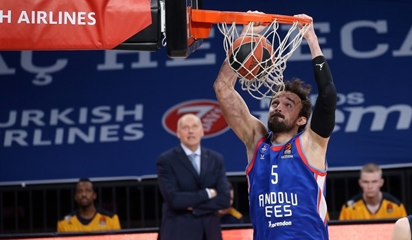 RS20 Report: Efes crushes Khimki, 99-60