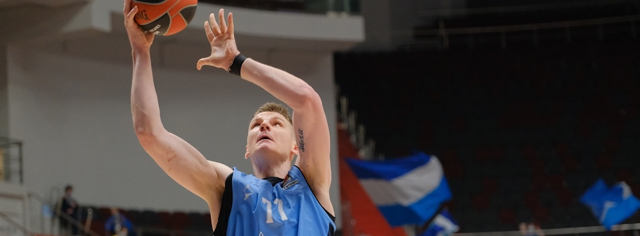 Gudaitis in the form of his life to answer Zenit's need