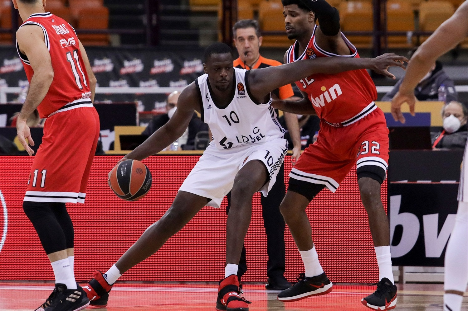 Moustapha Fall - LDLC ASVEL Villeurbanne - EB20
