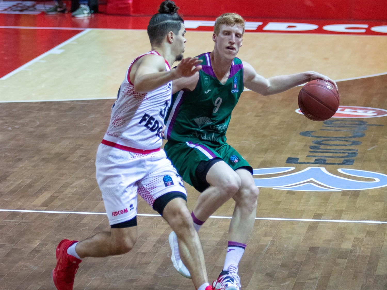 Alberto Diaz - Unicaja Malaga (photo Monaco) - EC20
