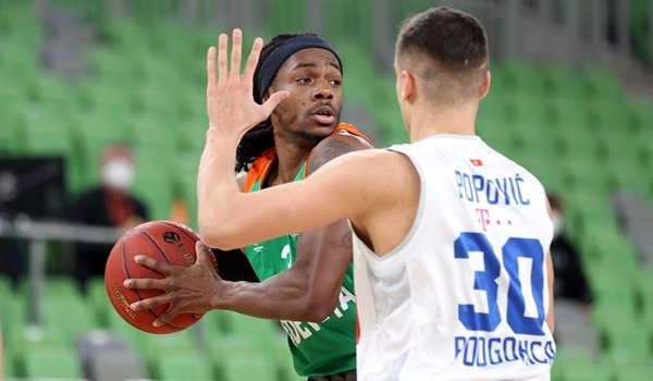 Top 16 Round 2 Report: Olimpija needs 15 threes to edge Buducnost