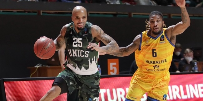 7DAYS EuroCup, Top 16 Round 2: UNICS Kazan vs. Herbalife Gran Canaria