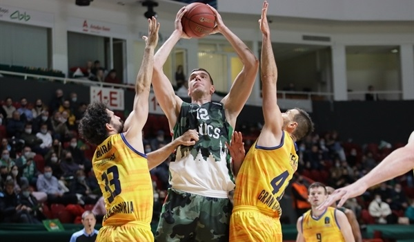 Top 16 Round 2 Report: UNICS's defense stops Gran Canaria