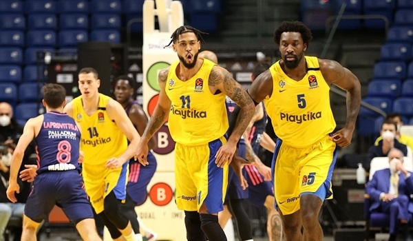 RS21 Report: Dorsey dominates as Maccabi edges Real