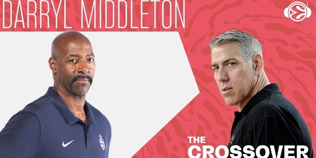 Three-time champ Darryl Middleton visits The Crossover