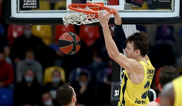 RS21 Report: De Colo, Vesely vault Fenerbahce past CSKA