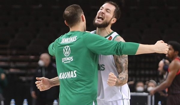 Big plays in crunch time gave Zalgiris victory