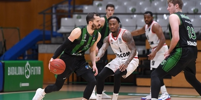 7DAYS EuroCup, Top 16 Round 3: Joventut Badalona vs. AS Monaco