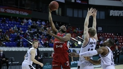 Lokomotiv beats Partizan at home for first Top 16 win
