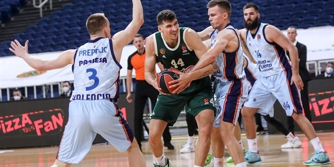 Panathinaikos was all confidence in 500th EuroLeague game