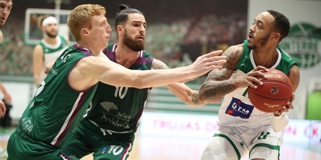 7DAYS EuroCup, Top 16 Round 4: Nanterre 92 vs. Unicaja Malaga