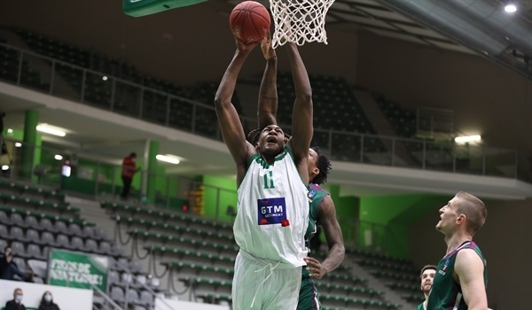 Top 16 Round 4 Report: Kaba leads Nanterre for a sweep of Unicaja