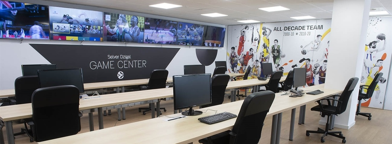 "Euroleague Basketball dedicates the ""Selver Dzigal Game Center"""