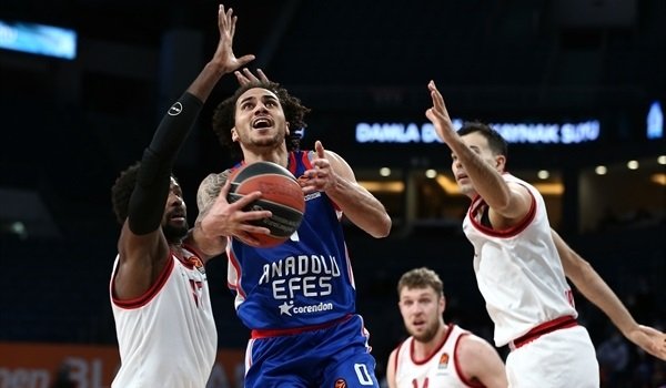 RS25 Report: Efes's defense suffocates Olympiacos