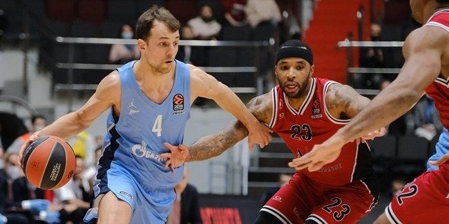 Pangos sparkled for Zenit in crunch time