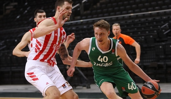 RS24 Report on Tuesday: Zalgiris downs undermanned Zvezda