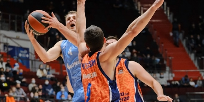 RS Round 26: Zenit St Petersburg vs. Valencia Basket