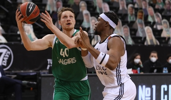 RS27 Report: Zalgiris ends ASVEL's streak, 85-75