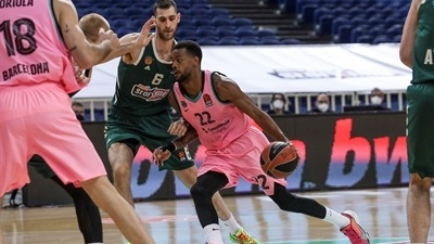 Barcelona dominates in Athens