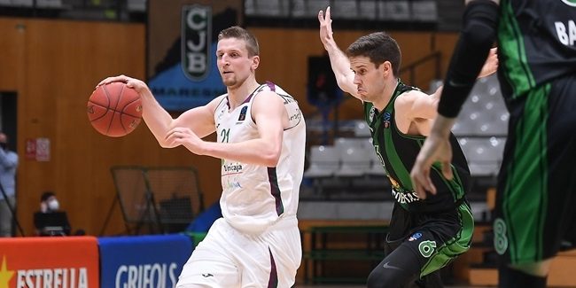 Eliminated Unicaja played for pride in Badalona