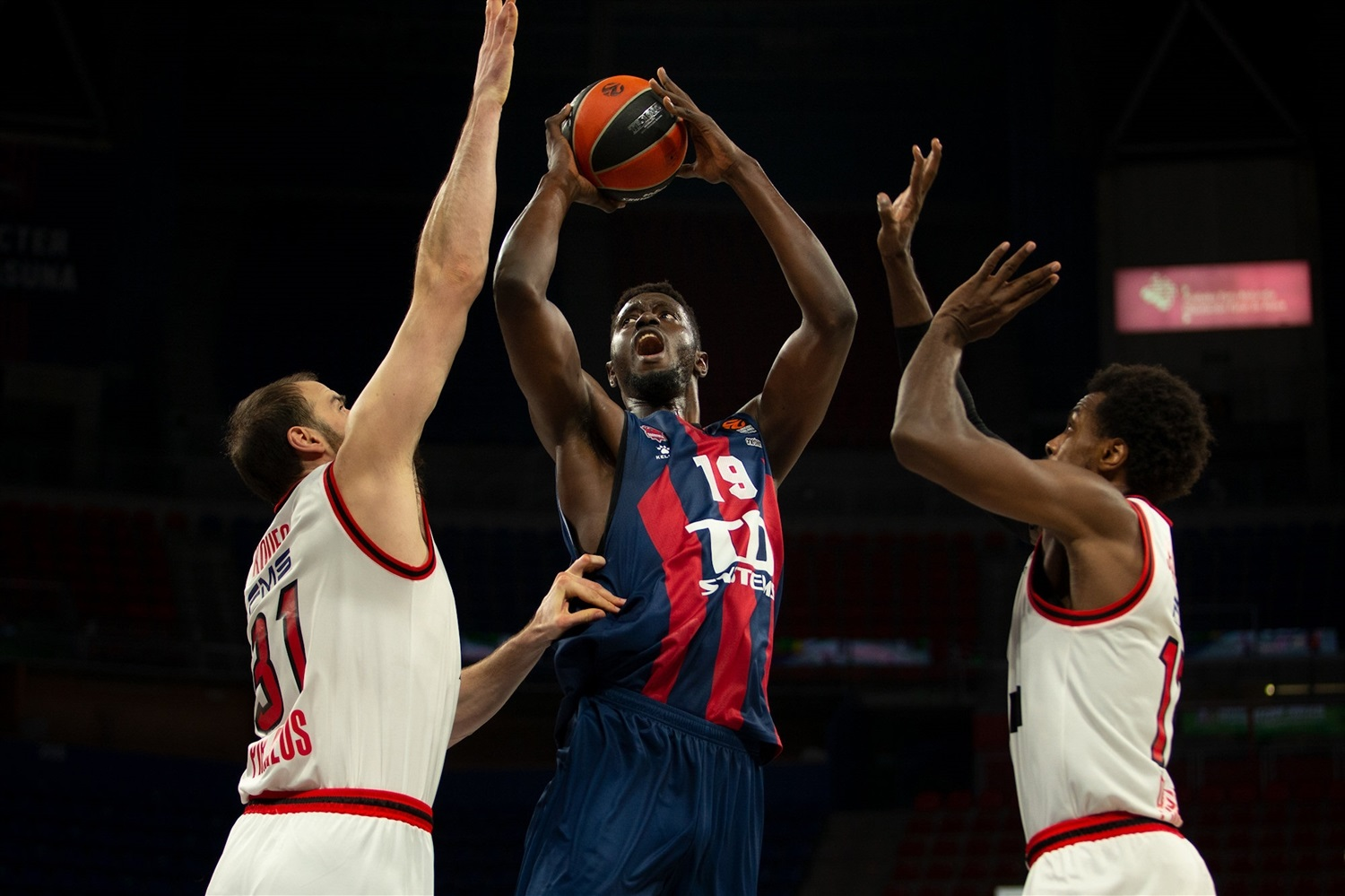 Youssoupha Fall - TD Systems Baskonia Vitoria-Gasteiz - EB20