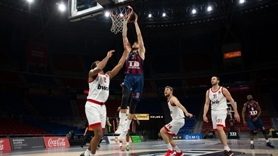 Baskonia blasts Reds for 5th straight win