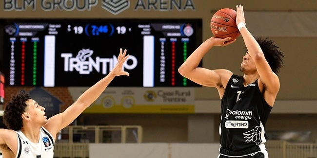 Return to defense nets Trento second straight win