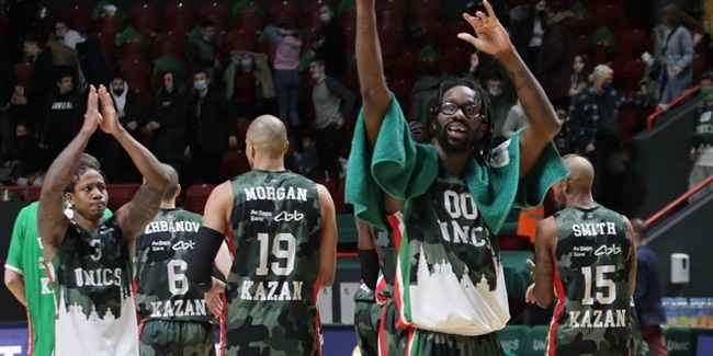 Road to the EuroCup Finals: UNICS Kazan