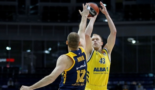 RS28 Report: Eriksson's onslaught lifts ALBA past Khimki