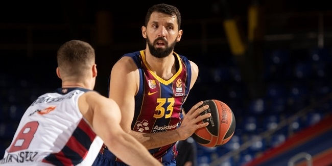 MVP for March: Nikola Mirotic, FC Barcelona