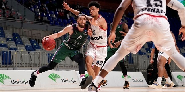 7DAYS EuroCup, Top 16 Round 6: Unicaja Malaga vs. AS Monaco